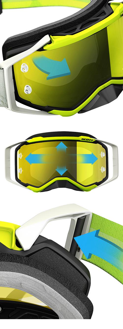 f11ed7a73 Scott Prospect SX Brille - Sort/Hvit